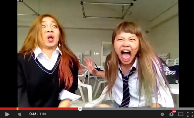 """Schoolgirls' """"Frozen"""" lip-sync is hilarious, terrifying"""