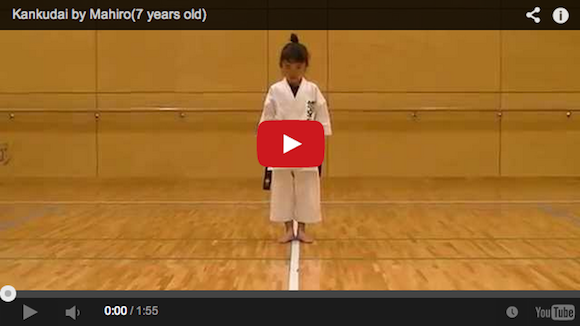 """Who are you calling """"cute""""!? 7-year-old karate master will destroy you【Video】"""