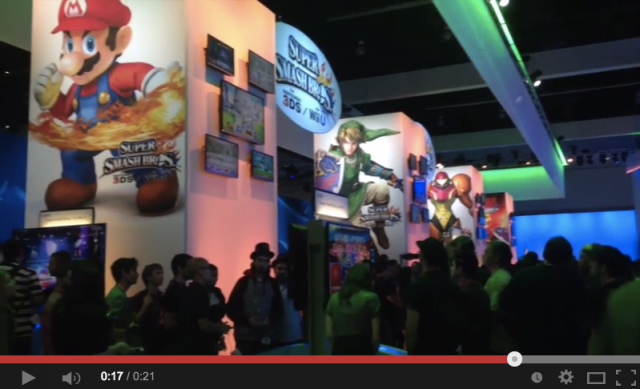 A quick look at the Sony, Xbox and Nintendo booths at E3 2014【RN24@E3】