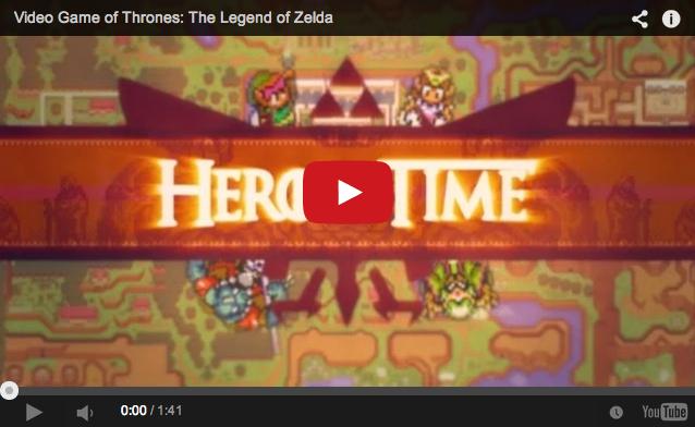 Game of Thrones meets Zelda in Super Nintendo-inspired opening song