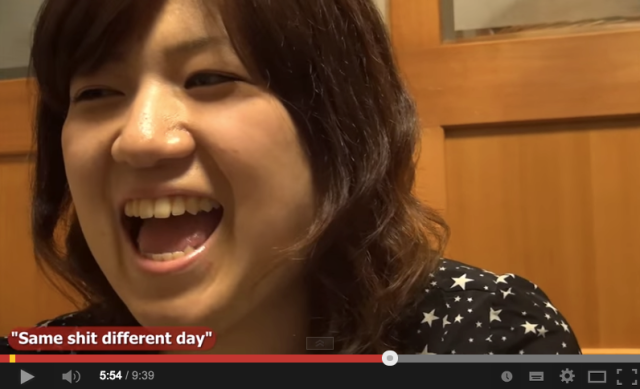 """""""Same sh*t different day"""" – Nice Japanese people swearing in English 【Video】"""