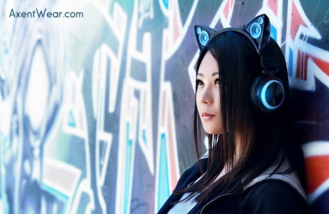 Felinephonic: New cat-ear headphones let you share your sound