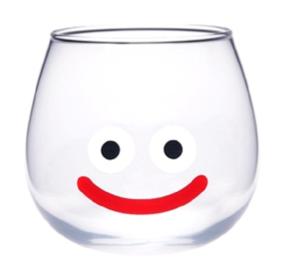 A Dragon Quest slime glass draws near! What will you drink?