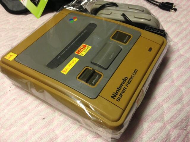 Sunburned Super Famicom catches collector's eye