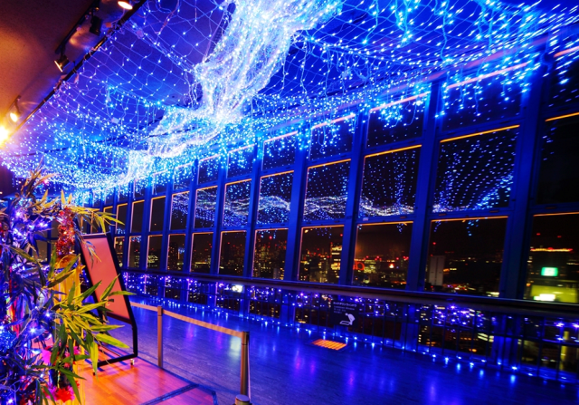 Tokyo Tower celebrates Tanabata with a beautiful case of the summertime blues
