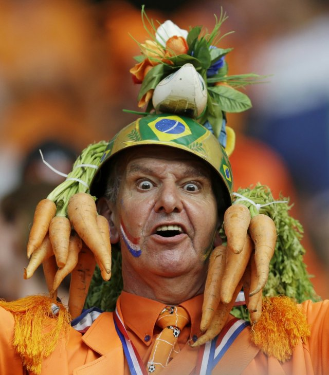 The craziest fans at the World Cup