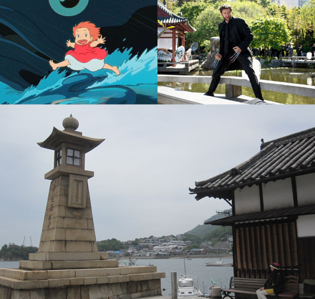 Tomonoura: Where Ponyo and Wolverine crossed paths
