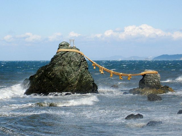 "Japan's top 3 rock ""power spots"""