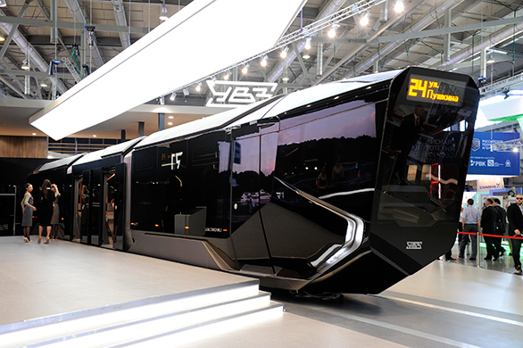 Futuristic tram prototype from Russia draws the envy of commuters worldwide