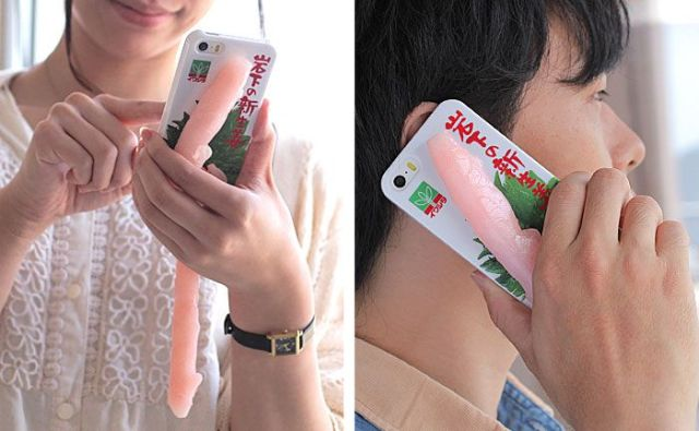 Not getting enough attention with your iPhone? Stick a couple of Iwashitas on it