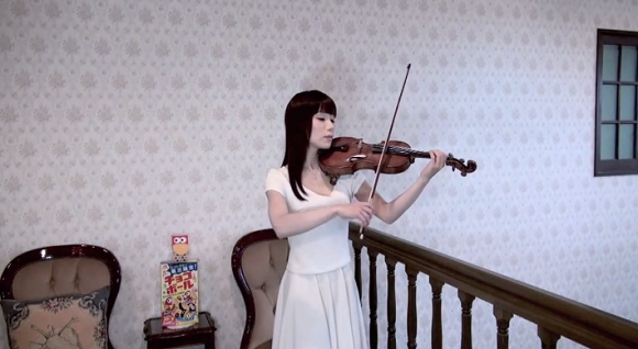 "Touching Final Fantasy X cover on the violin takes you ""To Zanarkand""【Video】"