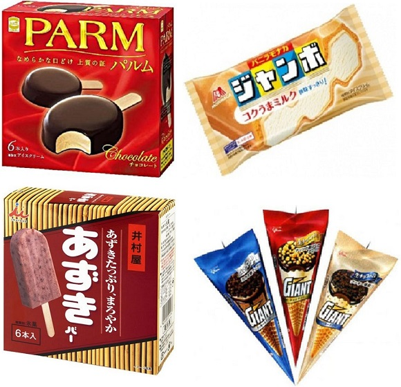 Here are Japan's favorite ice creams from last month! Vanilla wins by a mile…