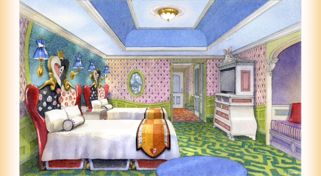 Tokyo Disneyland Hotel adding new rooms that let you stay with Alice, Belle, and Cinderella