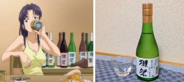 The sake from Evangelion goes great with Japan's poisonous blowfish…from a can 【Taste test】