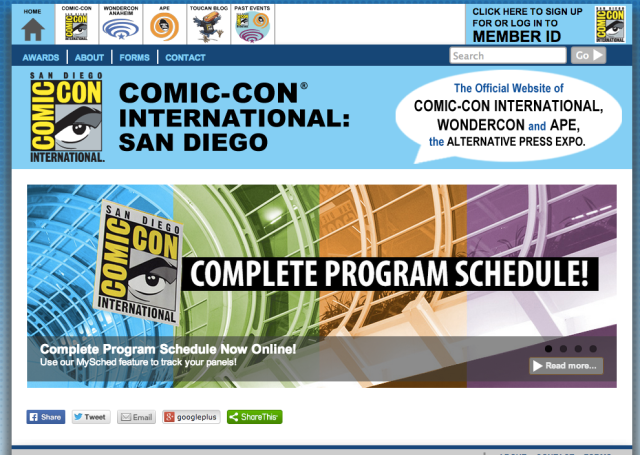 We're going to Comic-Con! What do you want to see?