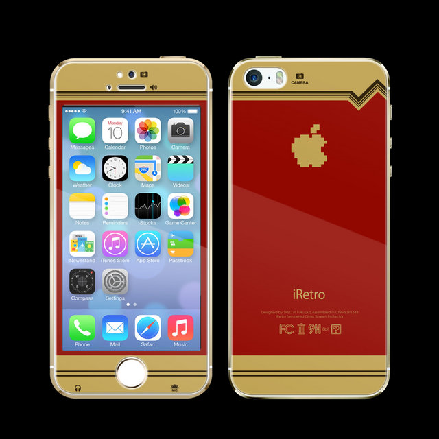 Keep your iPhone safe and retro-gamer chic with Famicom protective film