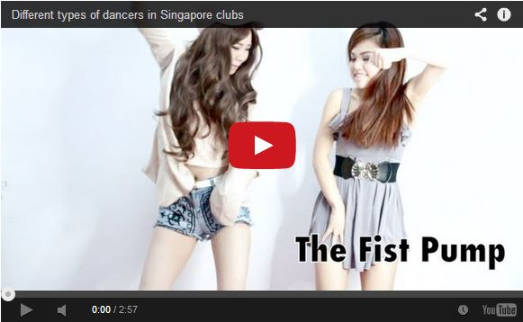 Blogger's silly video of types of dancers at Singapore clubs is trending in Japan