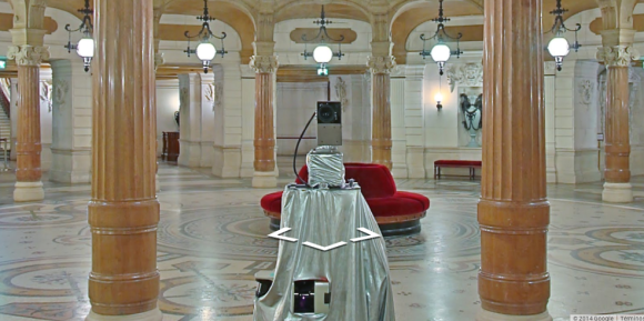 Google's Street View cameras are taking spooky selfies in museums around the world
