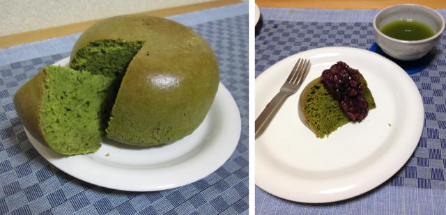 Our recipe for green tea rice-cooker pancakes: amazingly tasty, ridiculously easy
