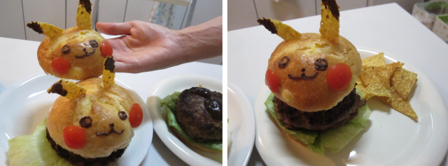 How to make your own Pikachu Burgers!【RocketKitchen】