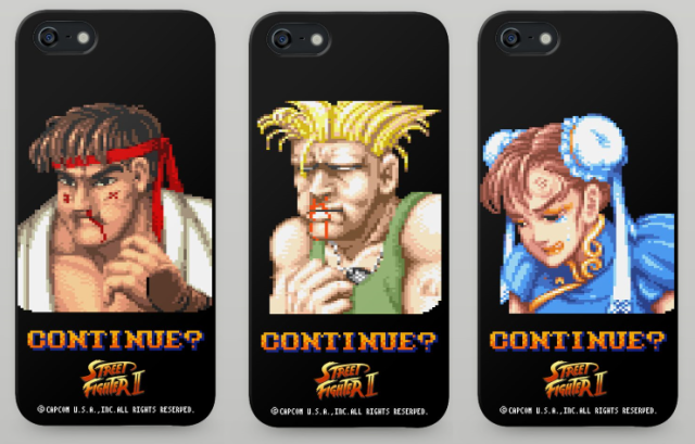 Continue? Save your iPhone from a battering with these protective Street Fighter II cases