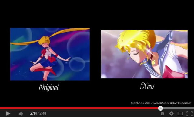 Moon prism comparison! Video places new, old Sailor Moon transformations side-by-side
