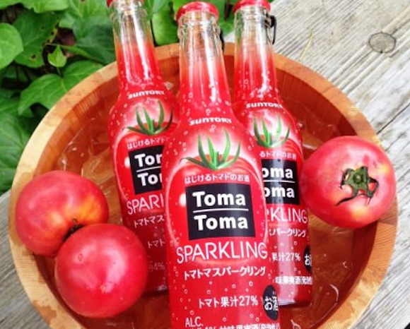 New in time for summer: Sparkling tomato booze!
