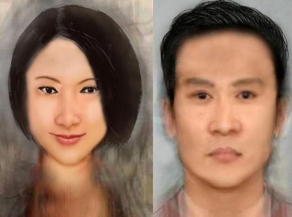 """Chinese internet unusually upset by """"most usual Chinese face"""" composite"""