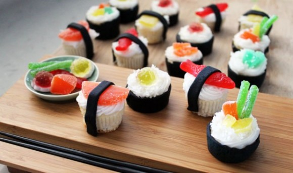 A collection of 20 creative 'sushi' rolls that were invented outside of Japan
