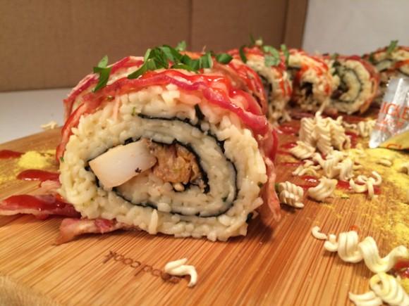 What's better than sushi? Ramen sushi!