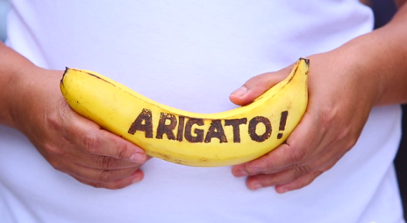 "Going Bananas for Bananart on Banana Day! Students create a ""bananamation"" movie【Video】"