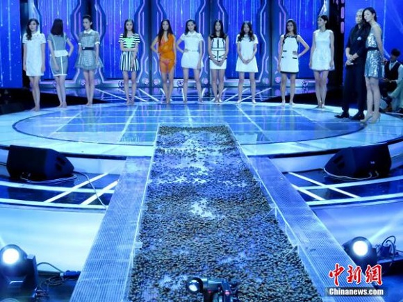 Fear Factor meets Next Top Model in China's modeling competition extravaganza