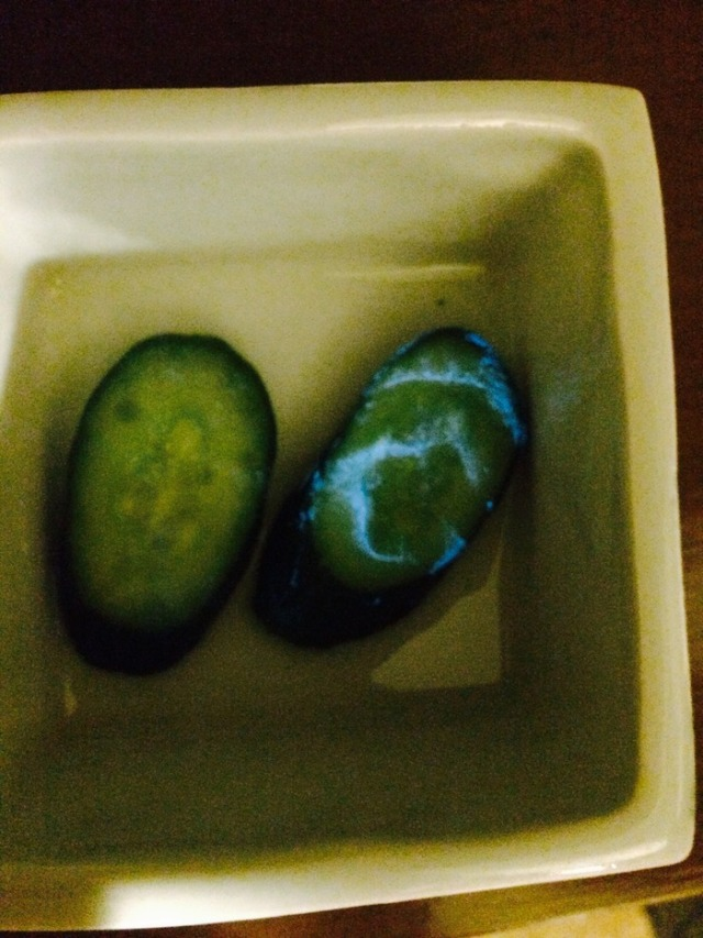 Japanese cucumber glows in the dark, sparks concern from internet