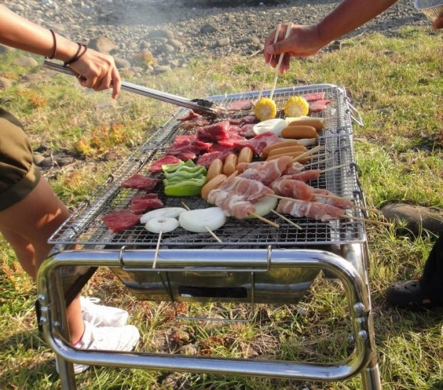 Nine steps to enjoying an outdoor Japanese barbecue