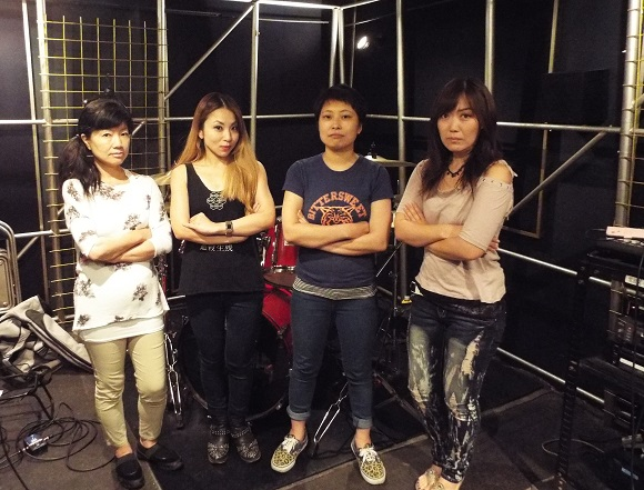 Flagitious Idiosyncrasy In The Dilapidation: Japan's awesome all-woman grindcore band【J-Tunes】