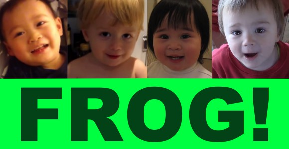"""Seven """"frogging"""" adorable kids belting out the F word!【Videos】"""
