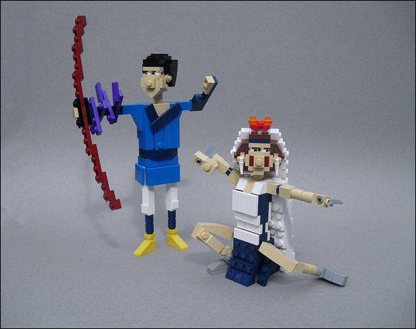 Lego models of Ghibli characters pay tribute to Hayao Miyazaki
