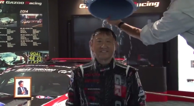 Japanese CEOs take on the ice bucket challenge