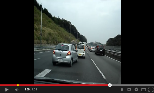 The clever way Japanese drivers thank each other without saying a word【Video】