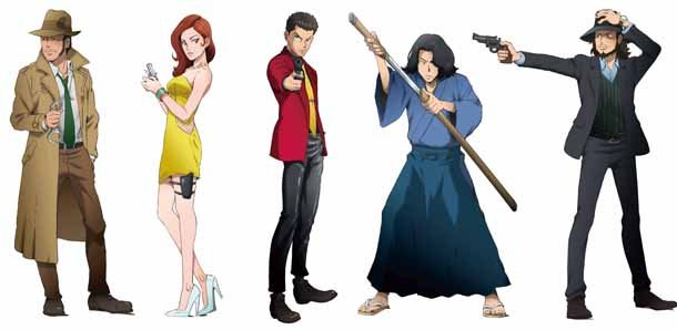Lupin III comes full circle as live-action cast turns into anime characters for bread line