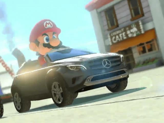 Nintendo's Mercedes-Benz for Mario Kart 8 is actually kind of depressing