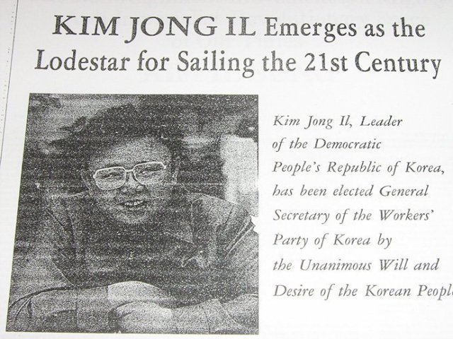 Over 3 decades, North Korea paid for full-page propaganda ads in western newspapers
