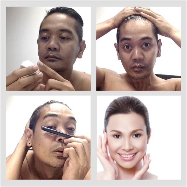 Philippine netizens do the makeup transformation meme to mixed results