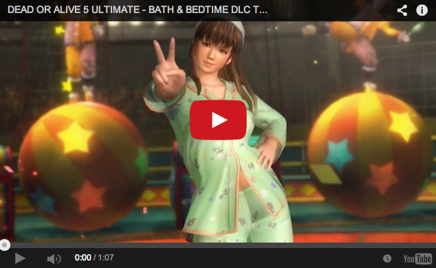 "Dead or Alive 5 achieves new level of creepiness with ""Bath and Bedtime"" costumes"