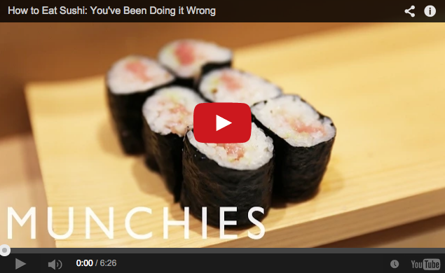 Do you really know how to eat sushi? Probably not!