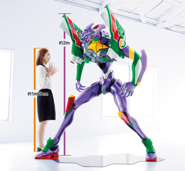 7-Eleven escalates anime goody arms race with gigantic Evangelion statue that could be yours