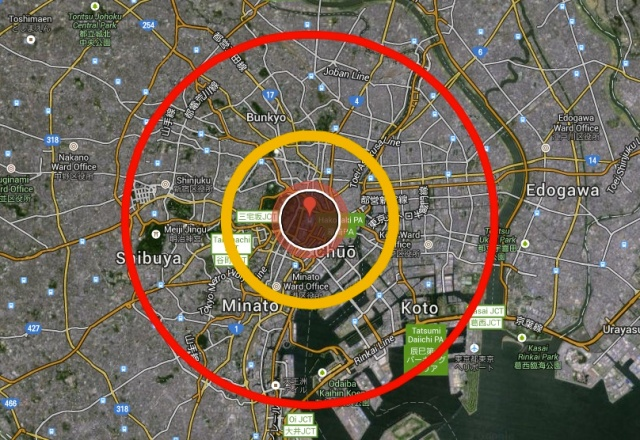 What if the 1945 Hiroshima bomb had been dropped on Tokyo instead?