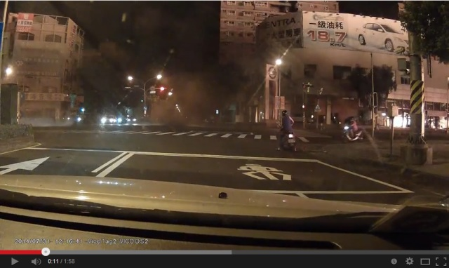 Dashboard camera captures the fear and chaos of Kaohsiung's deadly gas explosion