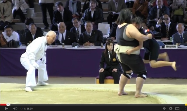 Women's sumo: slightly less traditional, but maybe even more fun than the original