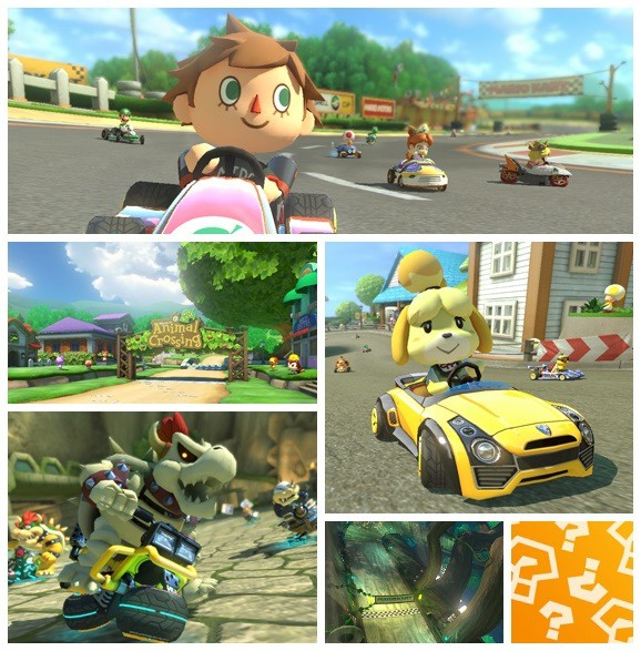 Zelda and Animal Crossing race into Mario Kart 8 as DLCs2